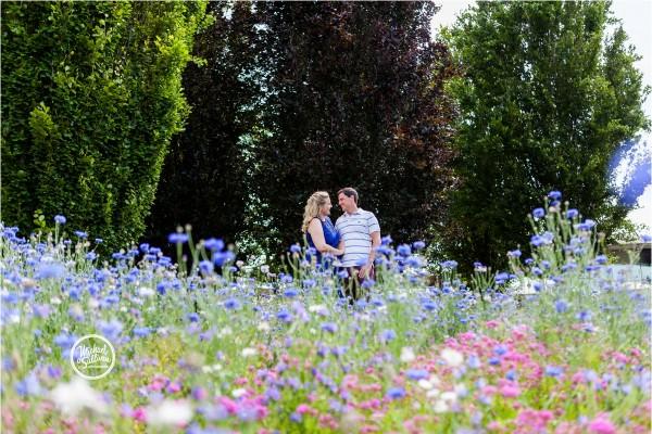 A Savill Garden Engagement Shoot