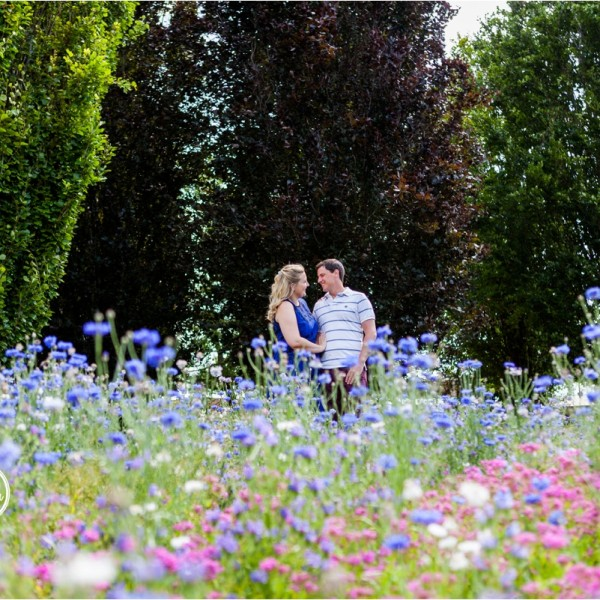 A Beutiful Savill Garden Engagement Shoot