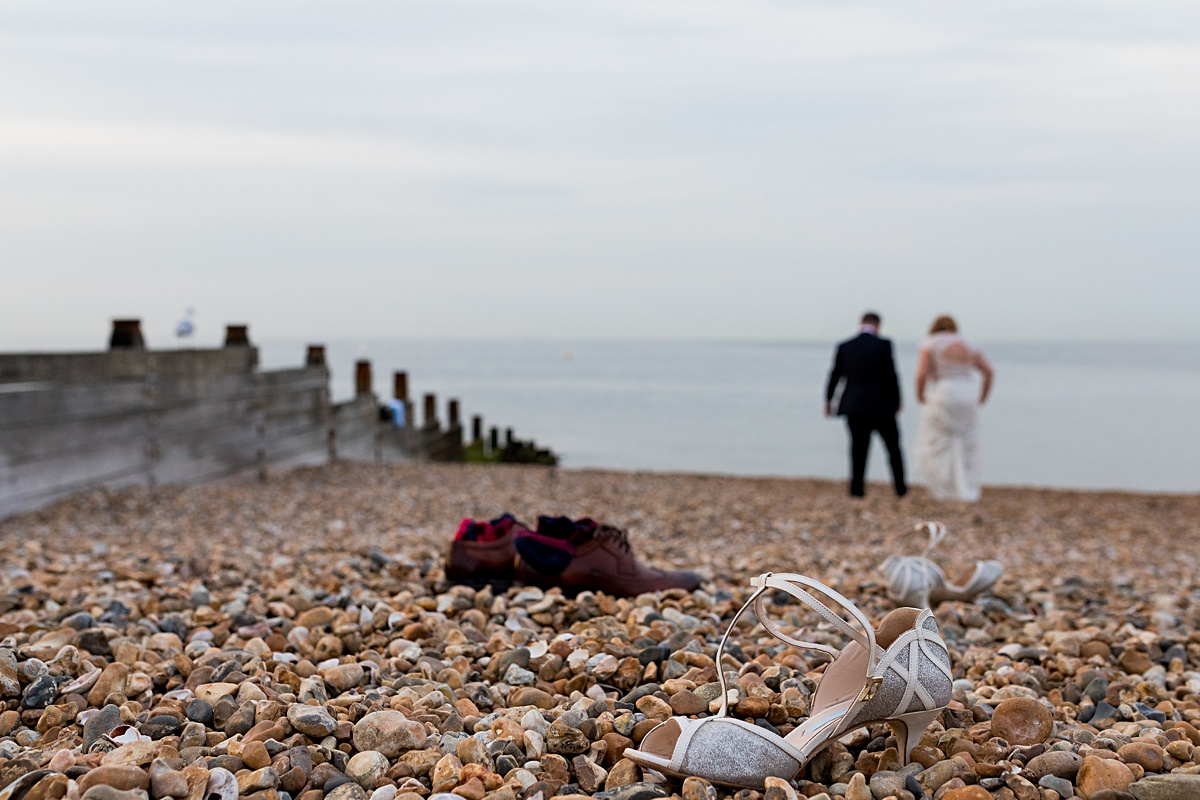 Stunning Whitstable Beach Wedding