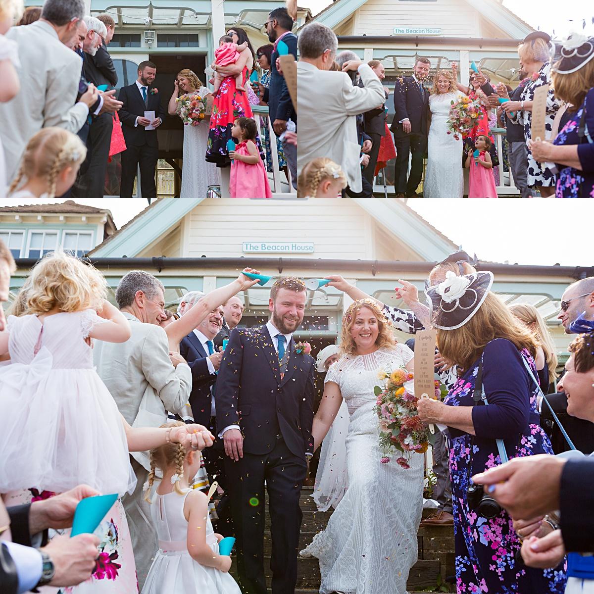Stunning Whitstable Beach Wedding
